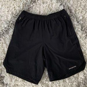 "Men's Patagonia Nine Trails Shorts 8"" black"
